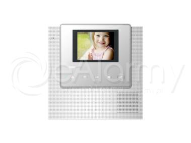 """CDV-43U WHITE Monitor kolorowy 4.3"""", doświetlenie LED, obsługa dwóch wejść COMMAX"""