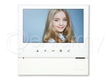 "CDV-70H2 WHITE Monitor kolorowy 7"", interkom, menu OSD, obsługa dwóch wejść COMMAX"
