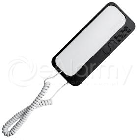 SMART-D Unifon cyfrowy z regulacją głośności i wyłącznikiem, w opcji dodatkowy przycisk CYFRAL - biało-czarny