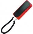 SMART 5P Unifon do systemu domofonowego anologowego 4+N CYFRAL - grafitowo czerwony