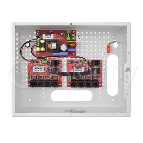 BCS-SP0812 Zestaw PoE 24V BCS dla 8 wideomonitorów IP w obudowie wewnętrznej