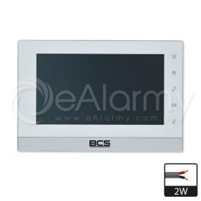 BCS-MON7200W-2W Wideomonitor BCS dla systemu 2-żyłowego
