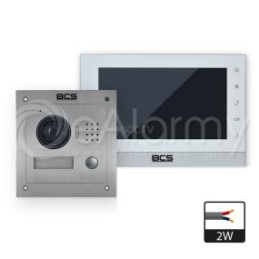 BCS-VD2W1 Zestaw wideodomofonowy w technologii 2-żyłowej BCS