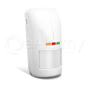 OPAL Pro Czujka zewnętrzna dualna PIR+MW, biała SATEL