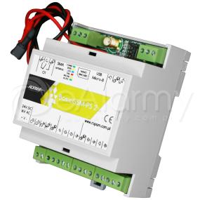 BasicGSM-PS-D4M 2 Moduł powiadomienia i sterowania GSM, nadajnik GSM ROPAM