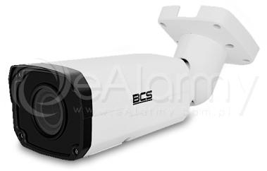 BCS-P-444RSA Kamera tubowa IP 4.0 Mpx, 2.8-12mm, zasięg IR do 30m, kolor biały BCS POINT