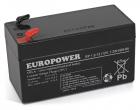 Akumulator EP 1,2-12 Europower 12V 1.2Ah