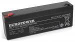 Akumulator EP 2,3-12 Europower 12V 2.3Ah