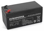 Akumulator EP 3,6-12 Europower 12V 3.6Ah