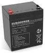 Akumulator EP 5-12 Europower 12V 5Ah