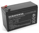 Akumulator EV 9-12 Europower 12V 9Ah