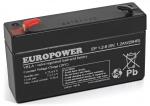 Akumulator EP 1,2-6 Europower 6V 1.2Ah