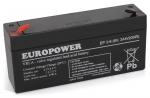 Akumulator EP 3-6 Europower 6V 3Ah
