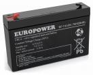 Akumulator EP 7-6 Europower 6V 7Ah