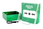APWK Natynkowy przycisk awaryjnego otwarcia drzwi, zielony Yotogi