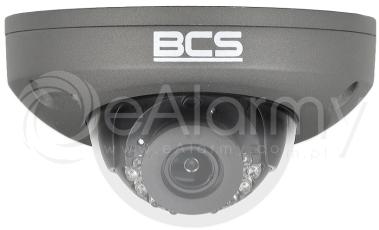 BCS-P-224RWSAM-G Kamera kopułowa IP 4.0 Mpx, 2.8mm, zasięg IR do 15m, kolor grafitowy BCS POINT