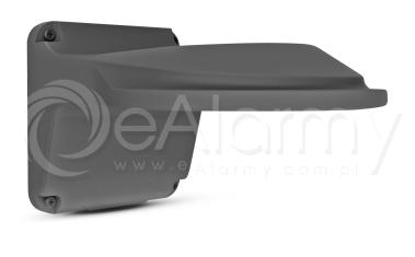 BCS-P-U111-G Grafitowy uchwyt ścienny dla dużych kamer kopułowych BCS POINT