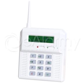 CB32 BZ Bezprzewodowa centrala alarmowa (podświetlenie w kolorze zielonym) Elmes