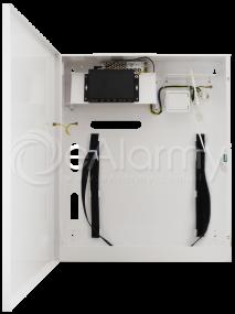 S54-CR 5-portowy switch PoE dla 4 kamer IP, 4x PoE + 1x UPLINK, miejsce na DVR, metalowa obudowa Pulsar
