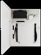 S94-CR 9-portowy switch PoE dla 4 kamer IP, 4x PoE + 4x LAN + 1x UPLINK, miejsce na DVR, metalowa obudowa Pulsar