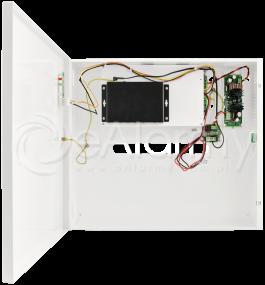 S54-B17 5-portowy switch PoE dla 4 kamer IP, 4x PoE + 1x UPLINK, metalowa obudowa, podtrzymanie bateryjne Pulsar
