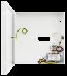 AWO150EI 7/EI40/DSPR Uniwersalna obudowa z transformatorem do centrali alarmowej PULSAR