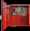 EN54-3A28LCD Pulsar Zasilacz buforowy do SSP, 3A, 2x28Ah, wyświetlacz LCD