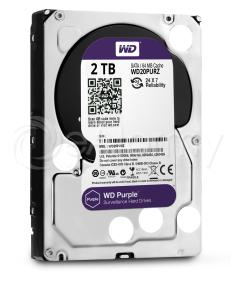 Dysk twardy HDD 2TB WD Purple, WD20PURZ Western Digital