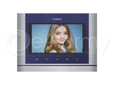 """CDV-70M Blue Monitor kolorowy 7"""", doświetlenie LED, obsługa dwóch wejść COMMAX"""
