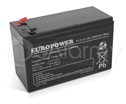 Akumulatory EUROPOWER w sklepie internetowym eAlarmy.com.pl