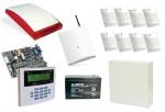 Zestaw alarmowy 10 - CA-10 + Moduł powiadomienia GSM LT-1 SATEL