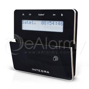 INT-KWRL-BSB Bezprzewodowy manipulator LCD z czytnikiem kart zbliżeniowych, czarny SATEL