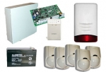 Zestaw alarmowy 11 -  PC-1616 DSC + LED5511Z
