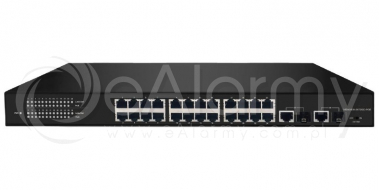 BCS-P-SP2402G-SFP 24-portowy switch PoE + 2x RJ45/SFP BCS POINT