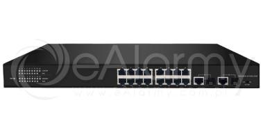 BCS-P-SP2402G-SFP 24-portowy switch PoE + 2x RJ45/SFP BCS POINT