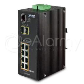 IGS-10020PT 8-portowy switch PoE + 2x SFP PLANET