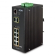 IGS-10020PT 8-portowy switch PoE + 2x SFP PLANET