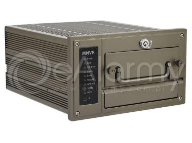 BCS-NVR0802C-P Rejestrator IP 8 kanałowy, mobilny BCS PRO
