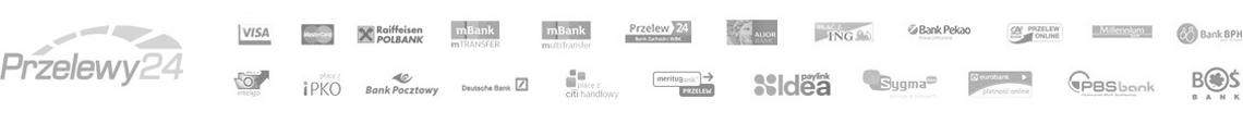 Przelewy24 - Szybkie płatności online w sklepie eAlarmy.com.pl