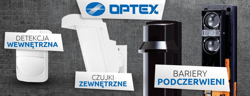 Optex - czujki zewnętrzne, detekcja wewnętrzna, bariery podczerwieni