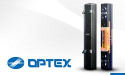 OPTEX Zewnętrzna bariera SL. Seria doskonałych 4 wiązkowych barier do ochrony obwodowej.