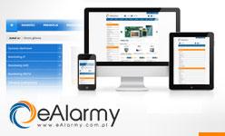 Zmiany na stronie eAlarmy.com.pl