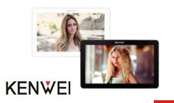 Nowy wideomonitor marki KENWEI z 10-calowym ekranem dotykowym