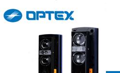 OPTEX - bariery podczerwieni przystosowane do montażu w kolumnie