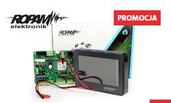 Promocja, zestaw alarmowy firmy Ropam - OptimaGSM oraz manipulator TPR-4W/B