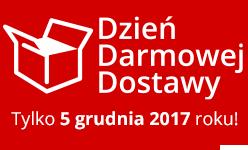 Dzień Darmowej Dostawy - 5-go grudnia, koszt wysyłka zamówień wyniesie 0 zł