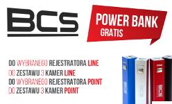 POWERBANK GRATIS przy zakupie urządzeń marki BCS z serii LINE oraz POINT