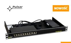 Nowe modele przełączników PoE do kamer IP wśród produktów firmy PULSAR
