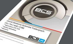 Seria BCS-XVRxxx4KE-II - wielosystemowe rejestratory HD-CVI, HD-TVI, AHD, CVBS firmy BCS