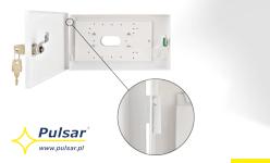 Zmiany zawiasów w obudowach na klawiaturę firmy PULSAR